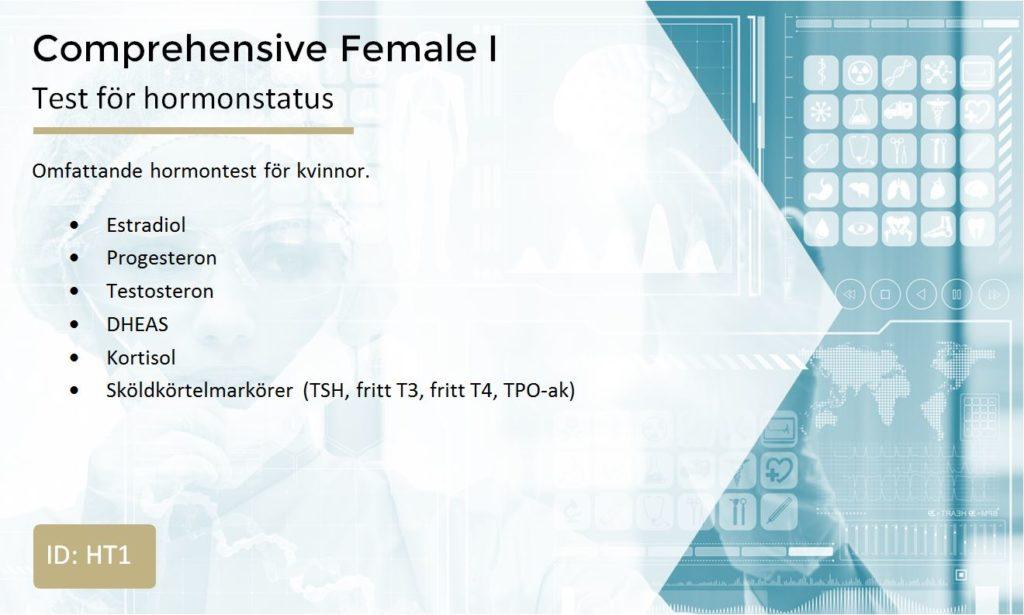 mäta hormoner i